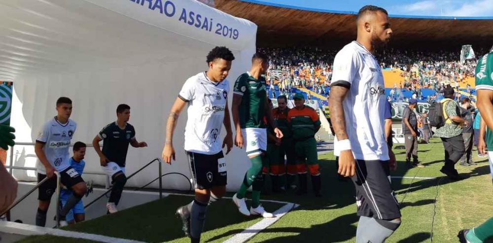 jogo foi decidido nos minutos finais - Foto: Divulgação / Botafogo