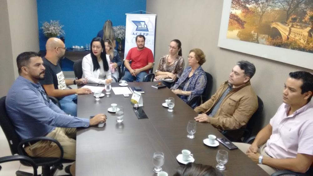 """Lançamento das vendas da 8ª Black Friday """"Liquida Fronteira"""" foi realizado na ACEPP"""