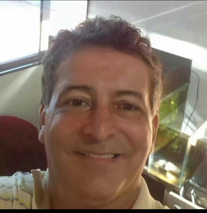 David Santos, 51 anos, morto após acidente de moto - Crédito: Divulgação