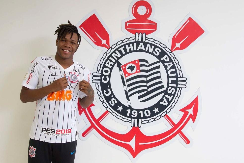 Principal novidade é o volante Matheus Jesus - Foto: Daniel Augusto Júnior/Agência Corinthians