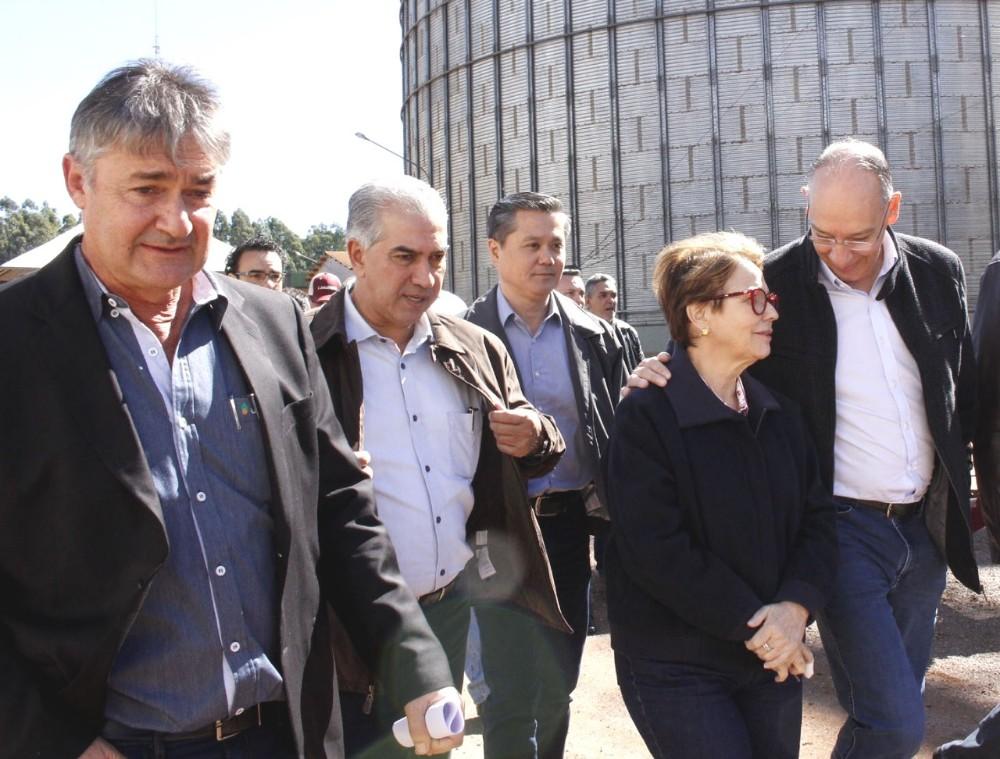Prefeito Hélio destaca potencial e investimento da Jotabasso em Ponta Porã
