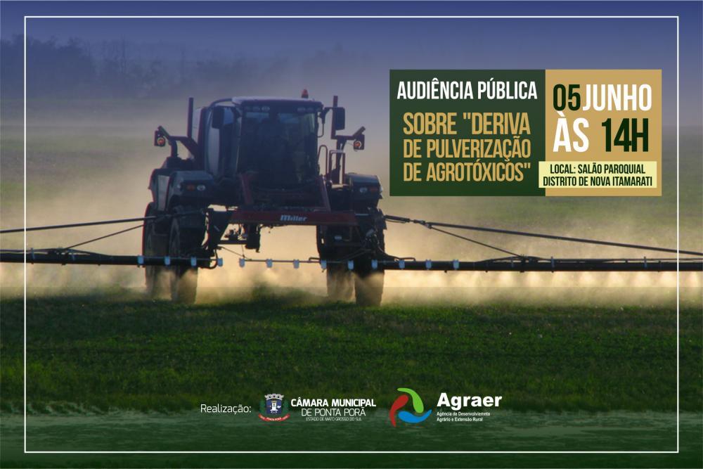 Audiência Pública (Deriva de Agrotóxicos - 2019)