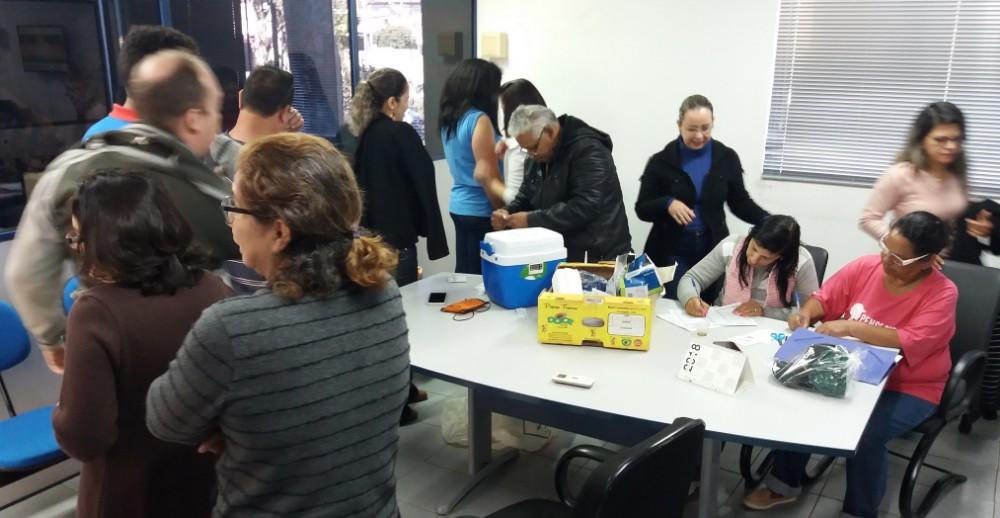 Servidores municipais imunizados contra gripe