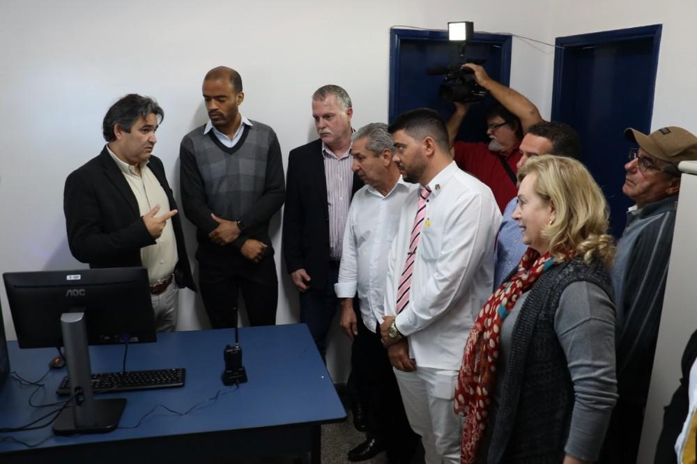 Prefeitura instala videomonitoramento na rodoviária