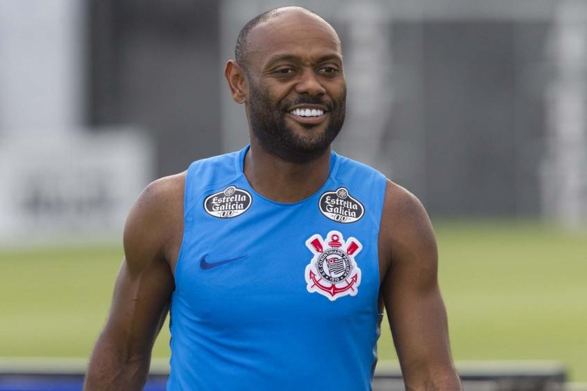 Vagner Love ficou fora da lista de relacionados do Corinthians - Foto: Daniel Augusto Júnior/Agência Corinthians