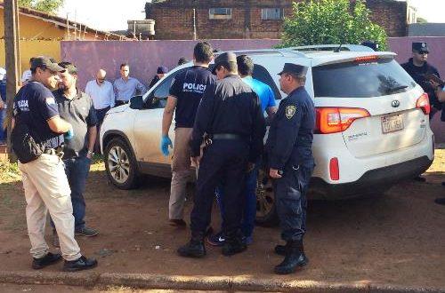 Médico Jose Marcial Centurion Caceres (50) que na tarde de terça feira (11) por volta das 14:00hs, foi executado a tiros