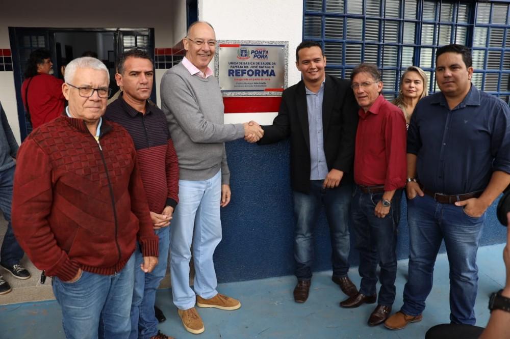 Edinho Quintana diz que inauguração da Unidade Básica de Saúde de Sanga Puitã, veio em boa hora