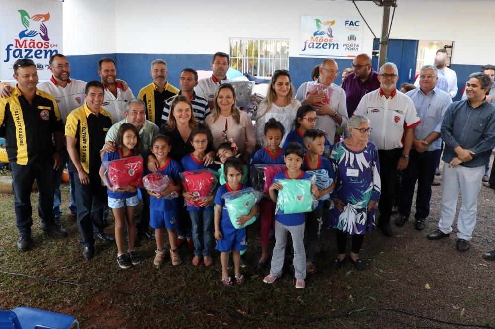 Lançada Campanha do Agasalho 2019 em Ponta Porã