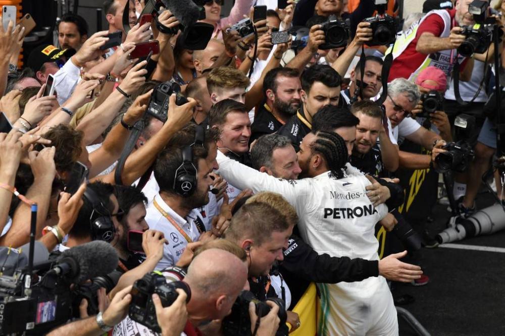 Hamilton piloto da Mercedes foi o vencedor do Grande Prêmio da França