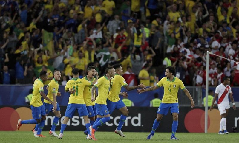 Brasil soma nono título de Campeão da América Latina - Foto: LEO CORREA AP