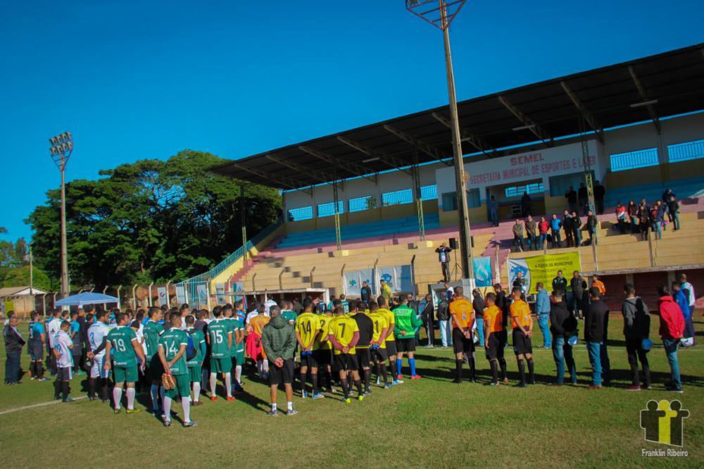 Abertura da rodada em Anaurilândia (Foto: Franklin Ribeiro)