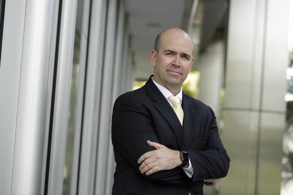 Felipe Michels Caballero é gerente da Corretora de Seguros Sicredi