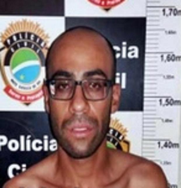 Baiano 'Oclinhos' já fora preso em 2017 pela polícia de MS - Foto: Divulgação