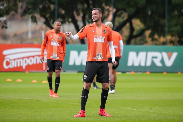 O Atlético está na quarta colocação do Campeonato Brasileiro, com 19 pontos na tabela do Brasileirão