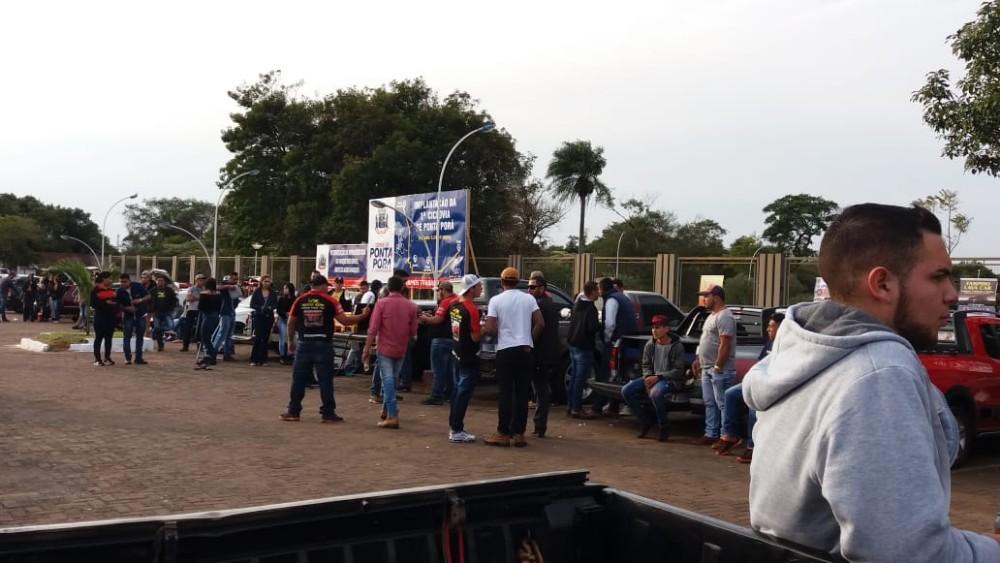 Evento do Som Automotivo marcou comemorações do aniversário de Ponta Porã