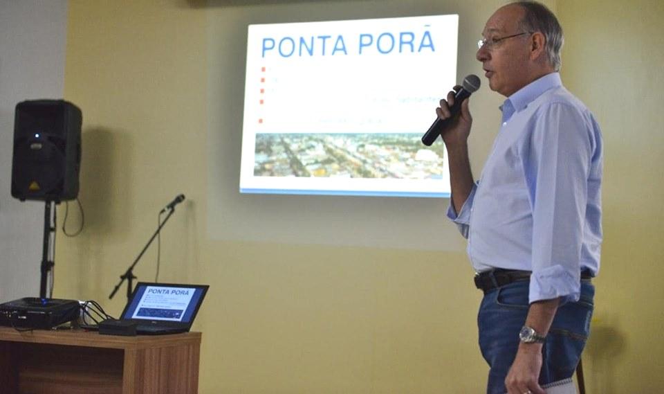 Prefeito Hélio Peluffo foi um dos palestrantes do Encontro de Dirigentes do PSDB-MS