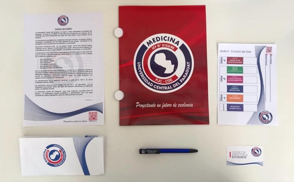 Universidad Central Del Paraguai (UCP) recebeu nesta terça-feira os novos alunos