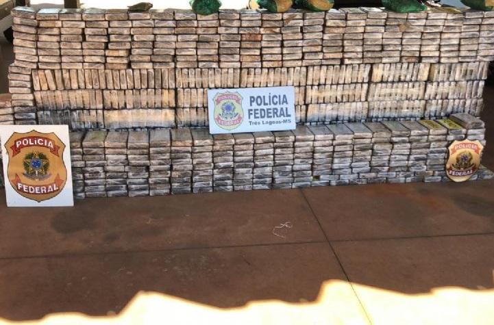 Droga interceptada ultrapassa cinco toneladas em sete meses - Foto: Divulgação