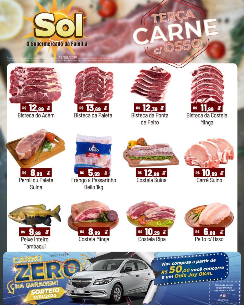 Ofertas da Terça da Carne com Osso