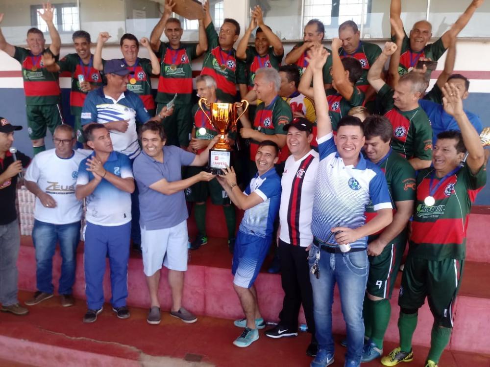 Tereré conquistou o título da Copa Internacional dos Veteranos da Fronteira
