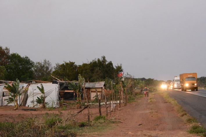 Grupo tem 900 famílias, distribuídas em nove acampamentos, em Mato Grosso do Sul - Foto: Álvaro Rezende / Correio do Estado