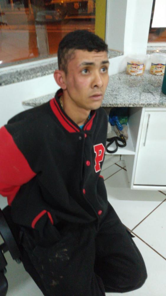 Suspeito foi preso pela polícia - Crédito: Ligado na Redação