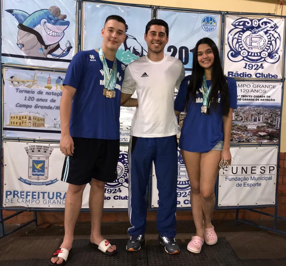 Atletas de Ponta Porã se destacam em Estadual de Natação