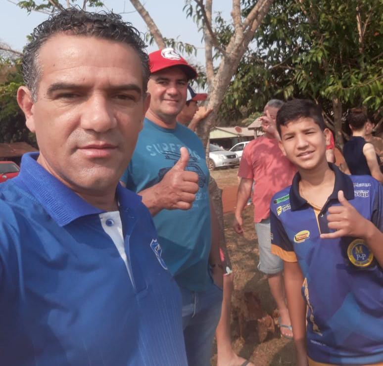 Vereador Wanderley Avelino grande incentivador do esporte amador em Ponta Porã