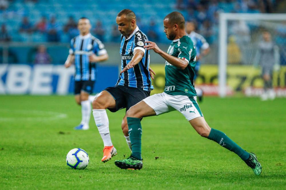 Equipes empataram no final de semana, em partida válida pelo Brasileirão - Foto: Lucas Uebel/Grêmio