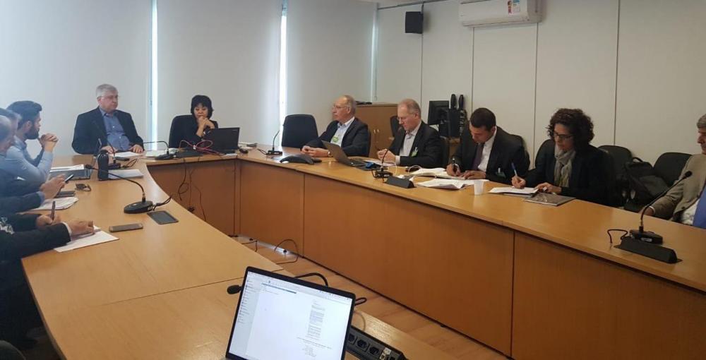 Prefeito Hélio Peluffo esteve nesta quarta-feira, 21, em Brasília
