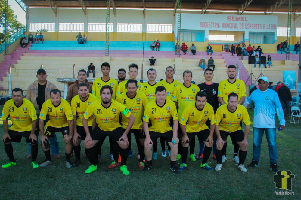 Equipe de Santa Rita do Pardo Foto: Edson Ribeiro