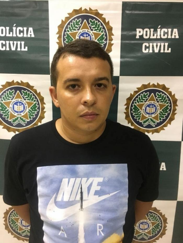 Galã foi preso no RJ em 2018 - Foto: Divulgação/Polícia Civil do Rio de Janeiro