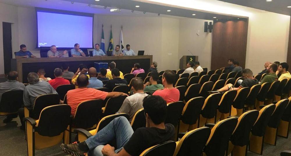 Arbitral ocorreu na Assomasul (Foto: Jeferson Jorge)