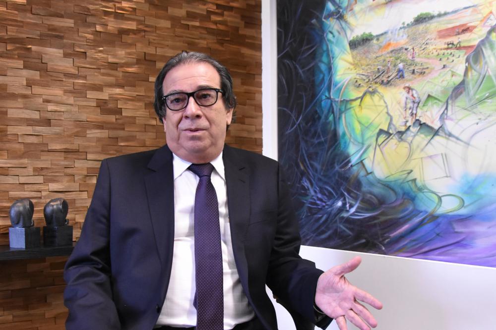 Iran Coelho das Neves é Presidente do Tribunal de Contas do Estado de Mato Grosso do Sul