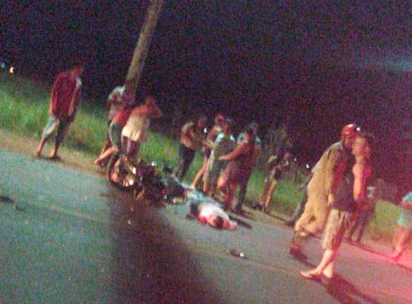 Três homens morrem em colisão de motos na MS-164