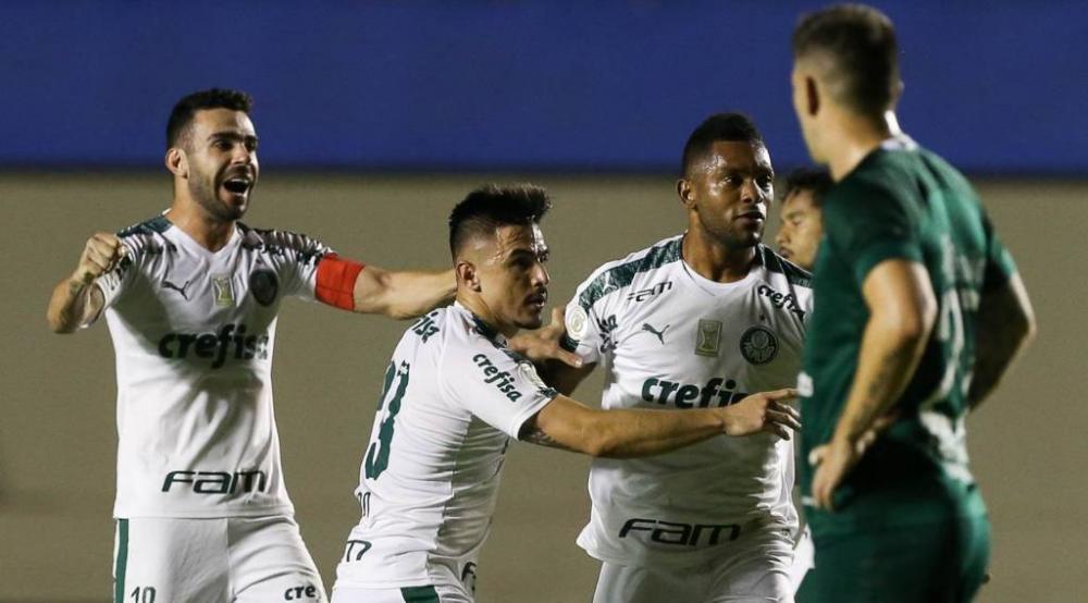 Com o triunfo, o Palmeiras subiu para a terceira colocação, com 33 pontos - Foto: Reprodução/Gazeta Esportiva