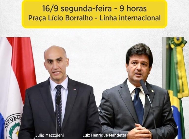Prefeito Hélio Peluffo recepcionará ministros em Ponta Porã