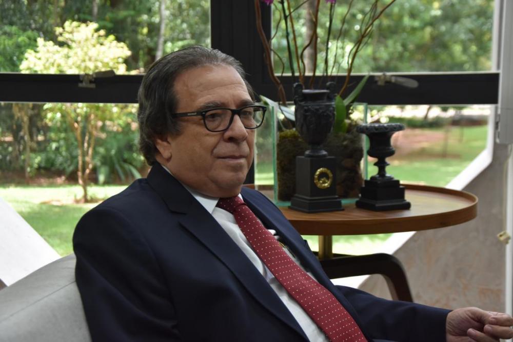Iran Coelho das Neves é Presidente do Tribunal de Contas