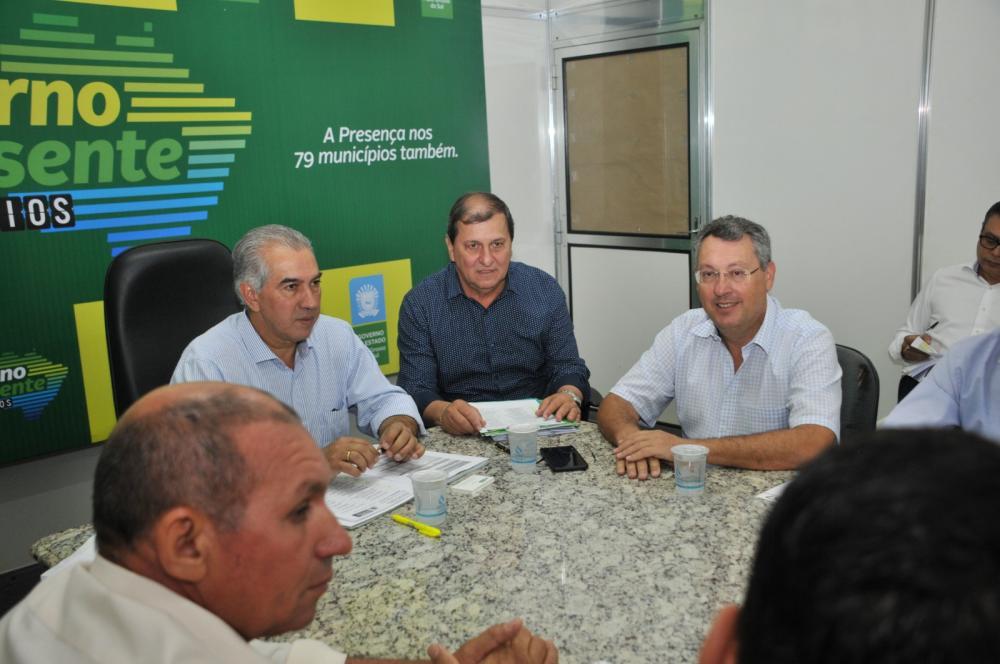 Governador cumpre agenda em Aquidauana, no programa Governo Presente - Foto: Valdenir Rezende/Correio do Estado