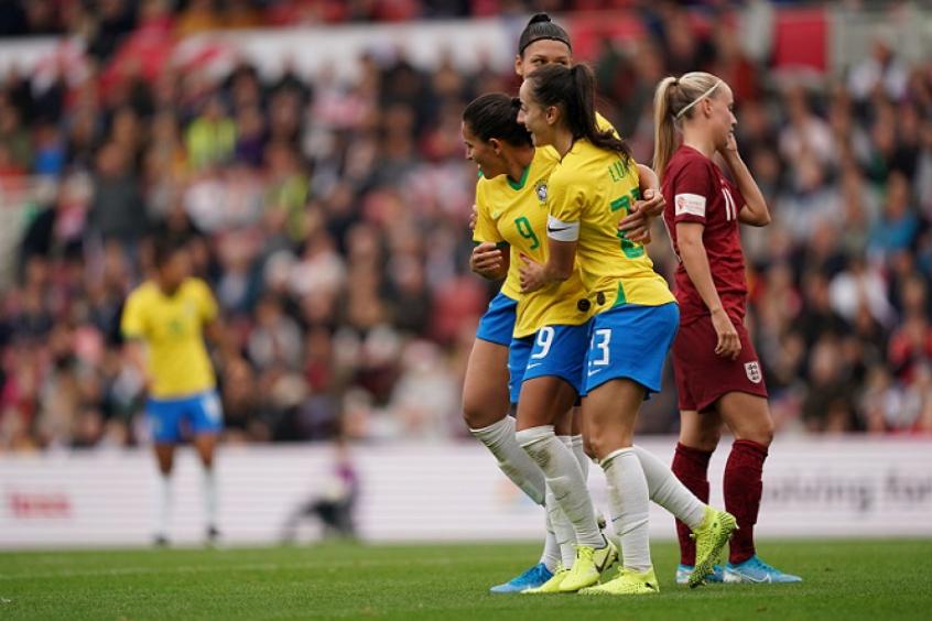 Foi a primeira vitória do Brasil sobre as adversárias europeias - Foto: Reprodução/CBF