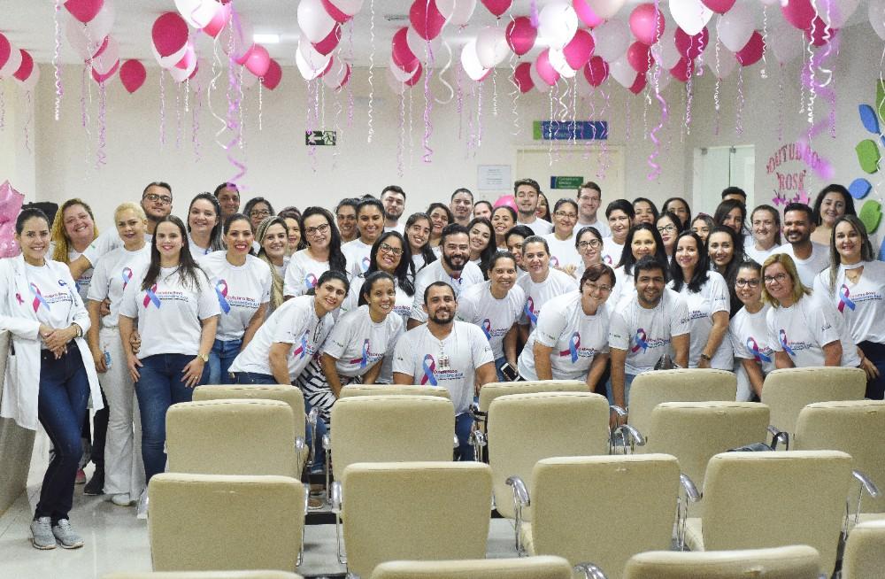 Hospital Regional promove ações em prol da Campanha Outubro Rosa