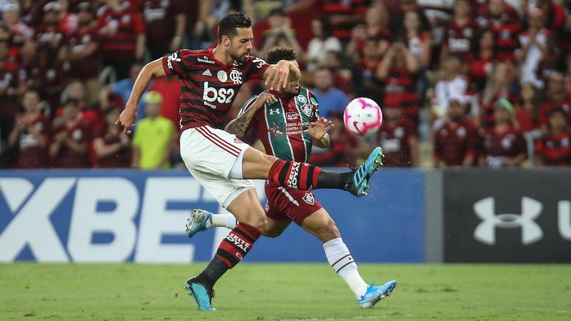 No clássico FlaFlu, Flamengo levou a melhor - Foto: Foto: Fluminense