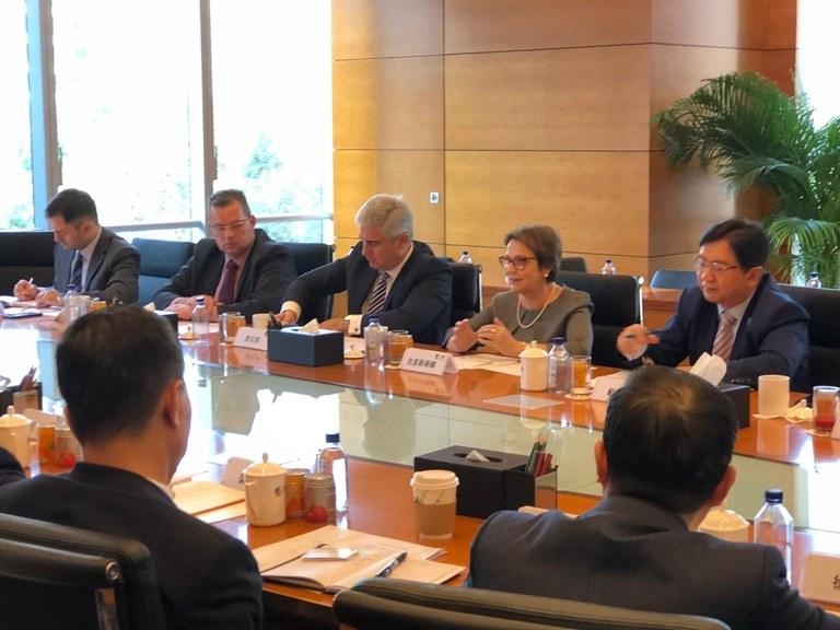 Ministra está em visita oficial à China - Foto: Divulgação/MAPA