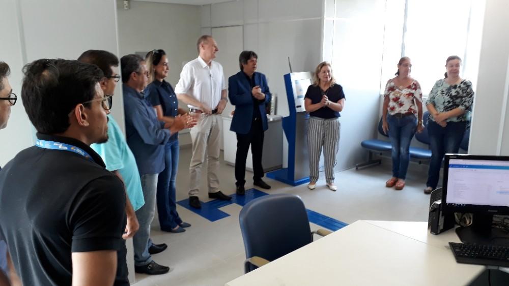 Inaugurado novo posto da CEF na prefeitura