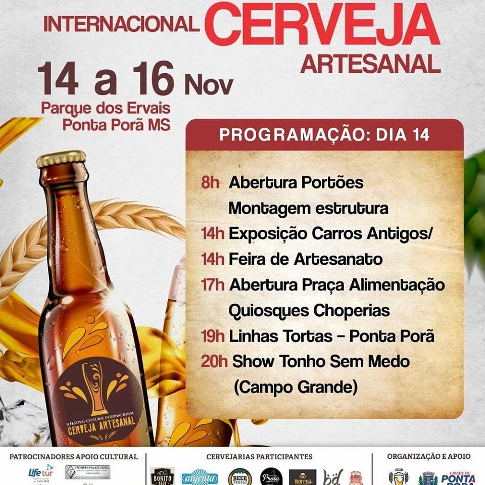 Festival da Cerveja Artesanal acontecerá no Parque dos Ervais