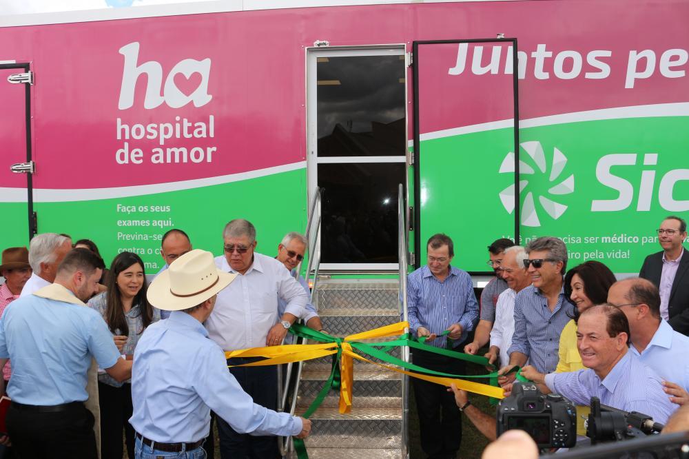 Implantação de uma unidade móvel que atenderá os 38 municípios da área de atuação da Cooperativa