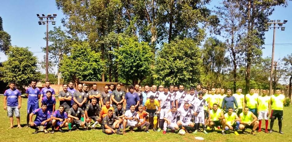 Equipes participantes do 1º Torneio da GCM