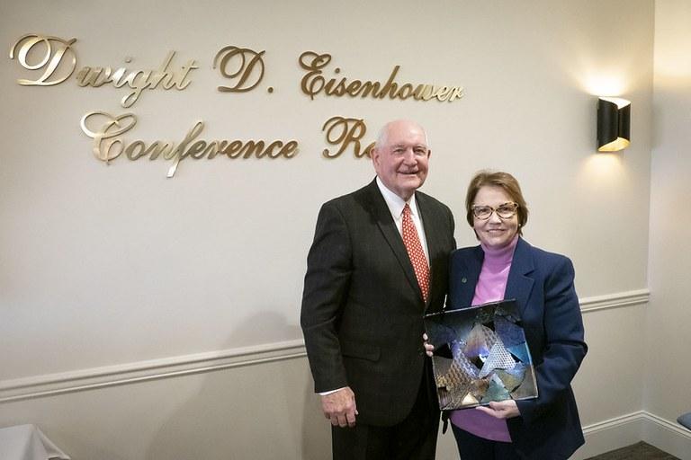 Ministra Tereza Cristina e secretário Sonny Perdue - Foto: Foto: Preston Keres/USDA
