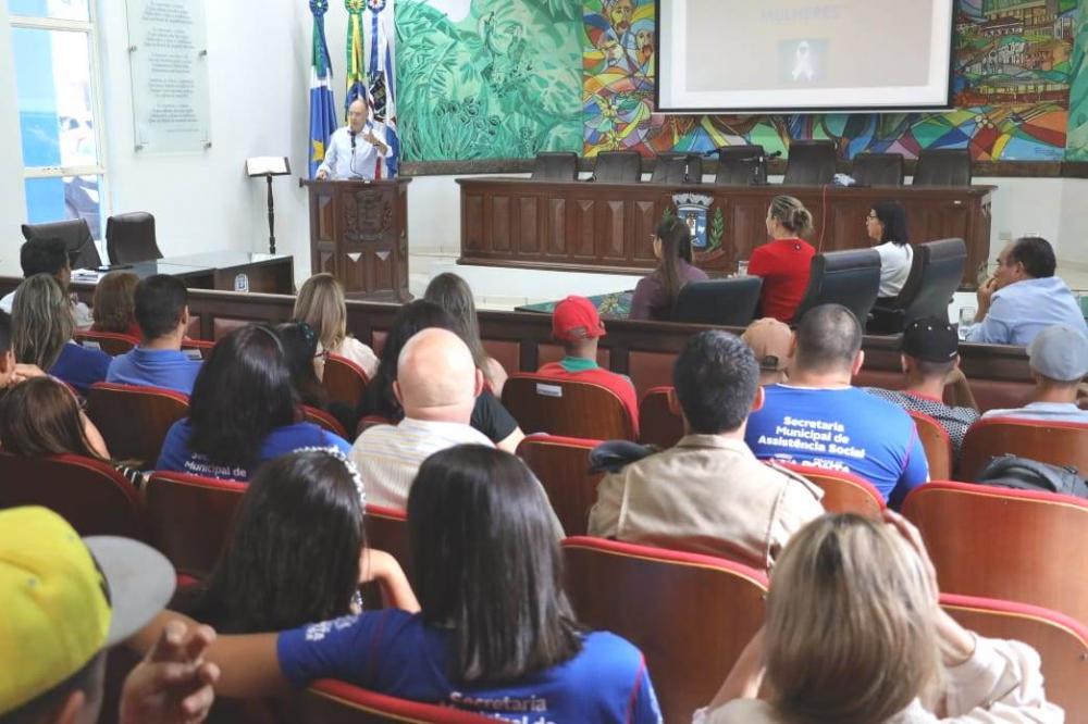 Câmara Municipal sediou ato de lançamento da campanha no município