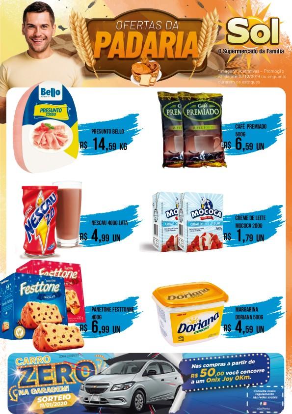 Comprem no Supermercado Sol com suas Ofertas da Terça da Carne com Osso